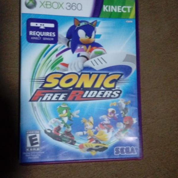 Jogo sonic free riders xbox 360