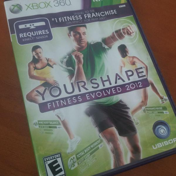 Jogo your shape 2012 xbox360