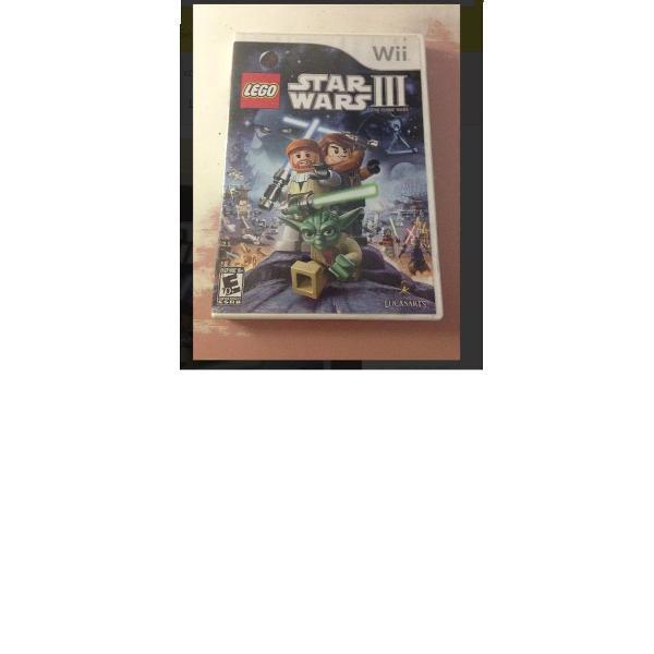 Lego star wars 3 nintendo wii pouco uso r$88