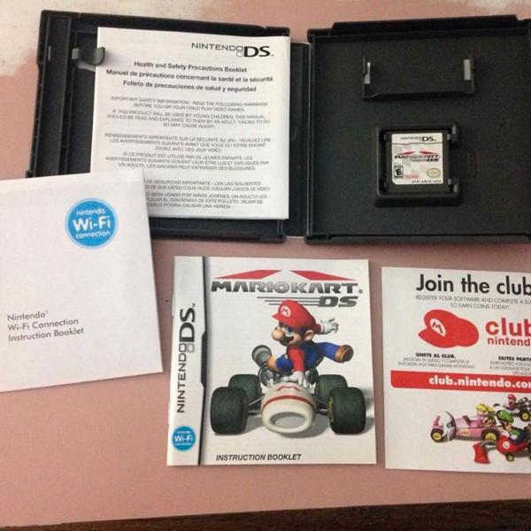 Mario kart nintendo ds completo caixa manuais r$168
