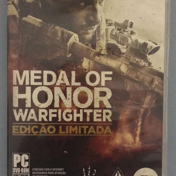 medal of honor warfighter - edição limitada