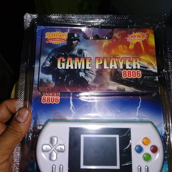 Mini game tela colorida 230 jogos