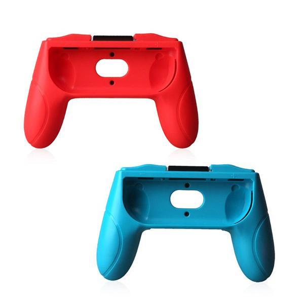 Par de grip joycon controller nintendo switch console game