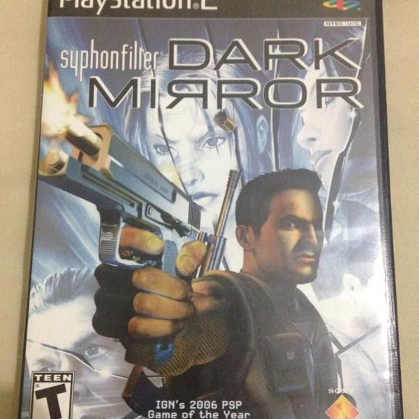 Playstation 2 syphon filter dark mirror original completo
