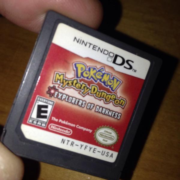Pokemon mystery dungeon nintendo ds dsi só o card r$129