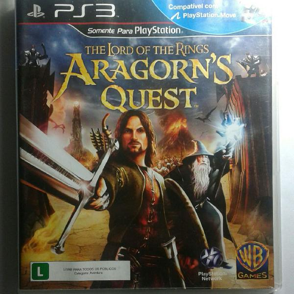 """Ps3 jogo """"lord of the rings: aragorn's quest"""""""