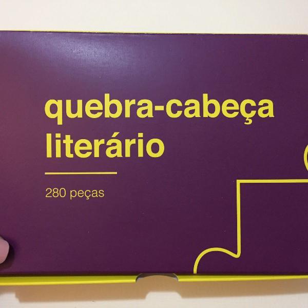Quebra cabeça literário 280 peças da tag (puzzle)