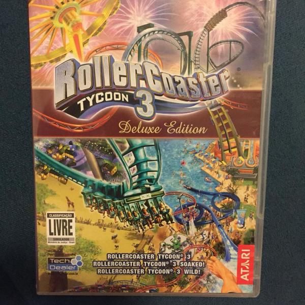 Rollercoaster tycoon 3 deluxe edition pra pc