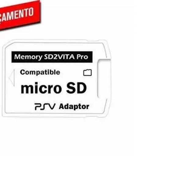 Sd2vita - adaptador micro sd p/ ps vita psvita - promoção