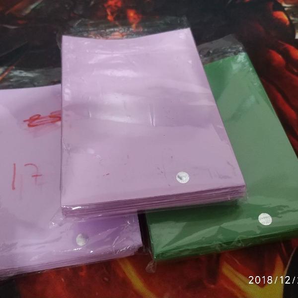Shields ultrapro rosa e verde