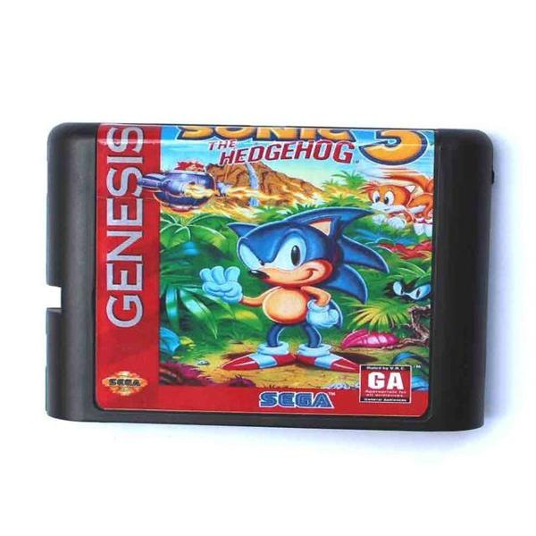 Sonic the hedgehog 3 mega drive genesis sega tectoy novo