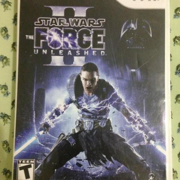 Star wars force unleashed 2 nintendo wii r$85