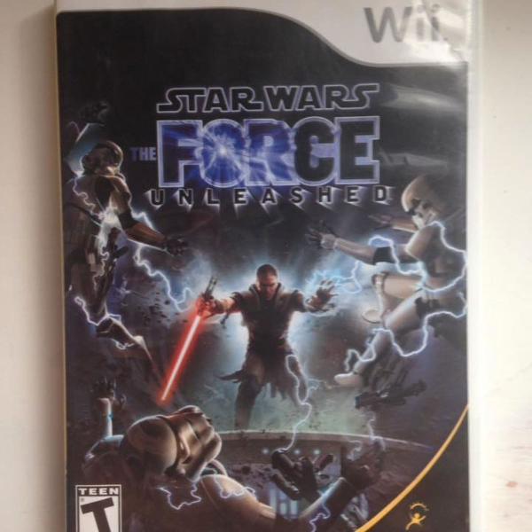 Star wars force unleashed nintendo wii ler tudo r$78