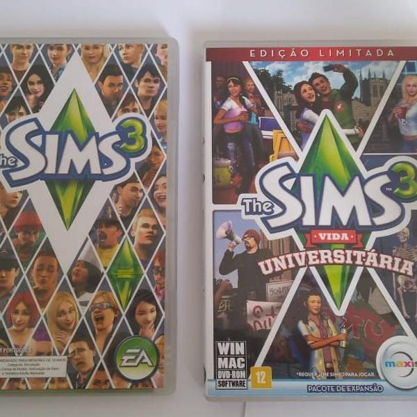 the sims 3 + pacote de expansão the sims 3 vida