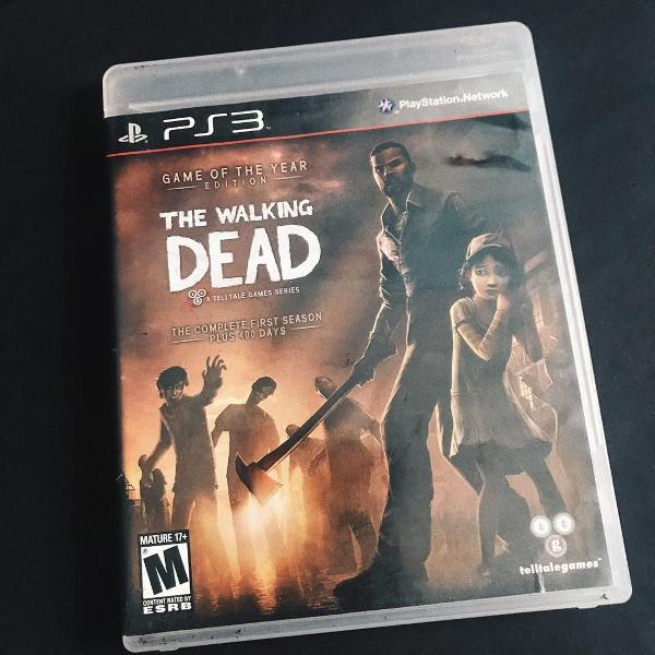 The walking dead complete first season ps3 física