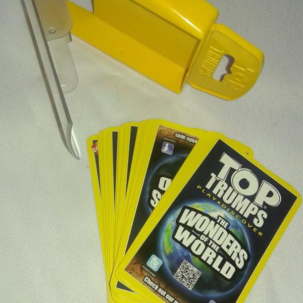 Top trumps - the woders of the world