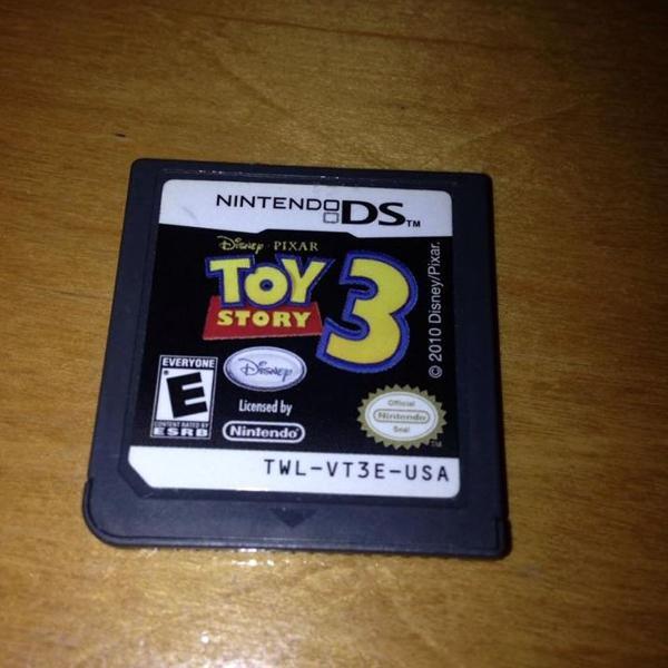 Toy story 3 disney pixar só o card nintendo ds dsi r$59