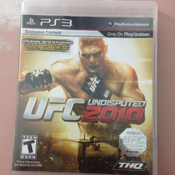 Ufc 2010 semi novo mídia física ps3 playstation 3 r$80