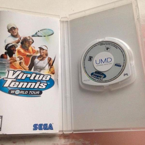 Virtua tennis original completo playstation psp sega r$65