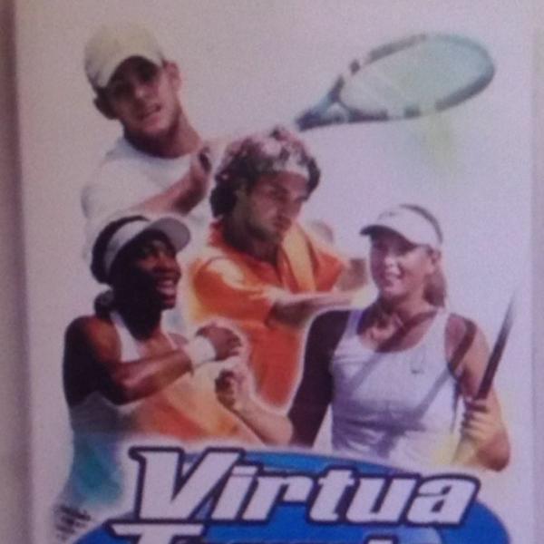 Virtua tennis psp jogo completo original pouco usado r$79