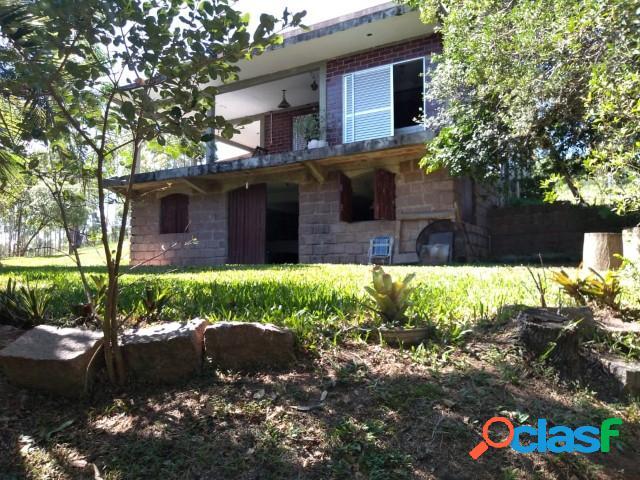 Sítio de 7.9 hectares montada, casa sede 240m², casa caseiro, itapuã/ viamã
