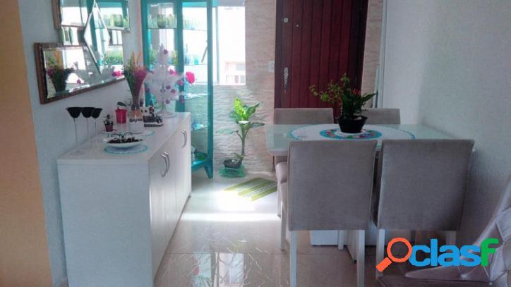 Apartamento com 2 dormitórios à venda, 52 m² por r$ 190.000 - taipas - são paulo/sp