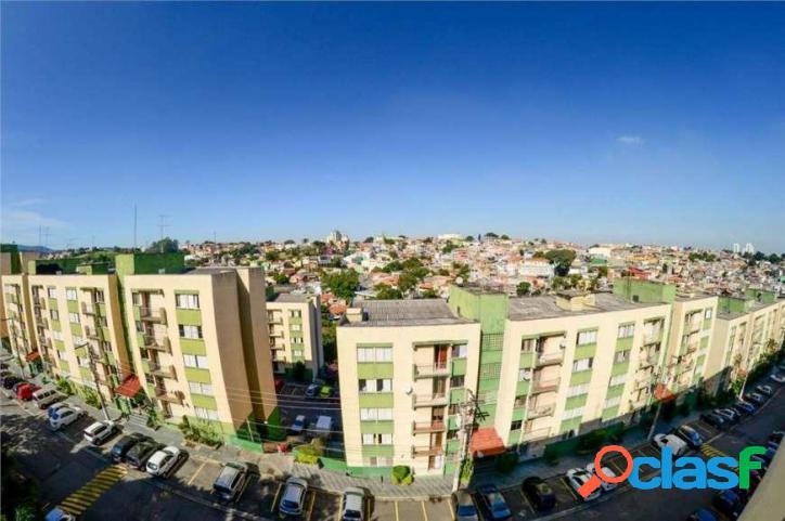 Apartamento com 2 dormitórios à venda, 56 m² por r$ 200.000 - jardim santa mônica - são paulo/sp