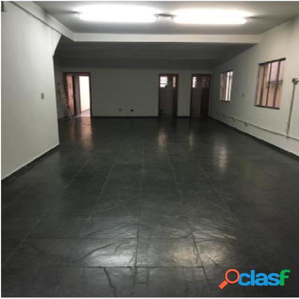 Salão para alugar, 120 m² por r$ 2.400/mês - casa verde - são paulo/sp