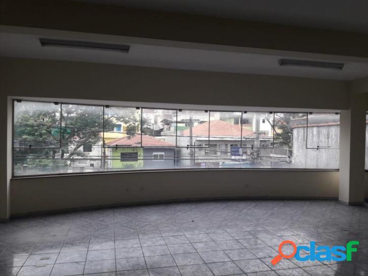 Salão para alugar no melhor ponto comercial de pirituba, próximo a estação e terminal de ônibus, 86 m² por r$ 1.400/mês - pirituba