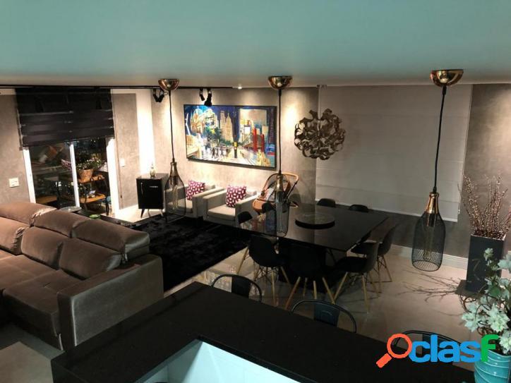 Lindo apartamento completamente mobiliado e decorado por arquiteta de 102m² à venda por r$ 690.000 - vila pereira barreto - são paulo/sp