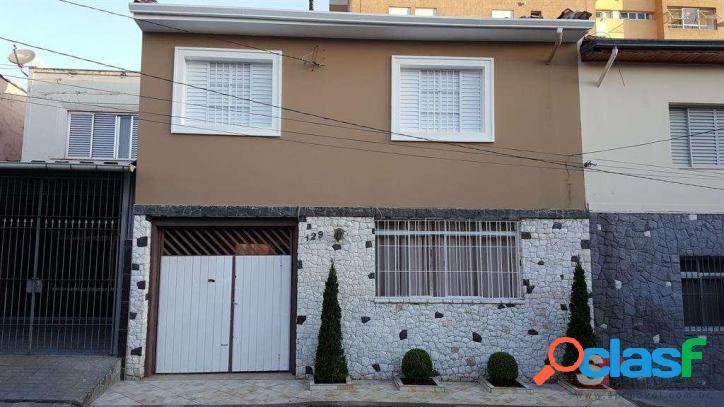 Lindo sobrado com 4 dormitórios à venda/locação, 170 m² por r$ 835.000 - r$4.100,00/mês - casa verde - são paulo/são paulo