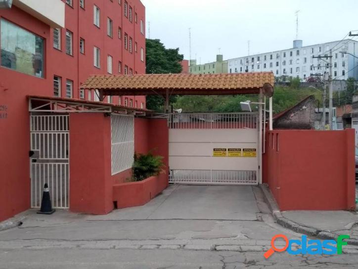 Apartamento com 2 dormitórios à venda, 44 m² por r$ 170.000 - vila nova parada - são paulo/sp