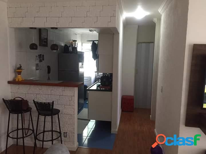 Apartamento com 2 dormitórios para alugar, 48 m² por r$ 1.500,00/mês - vila cruz das almas - são paulo/sp