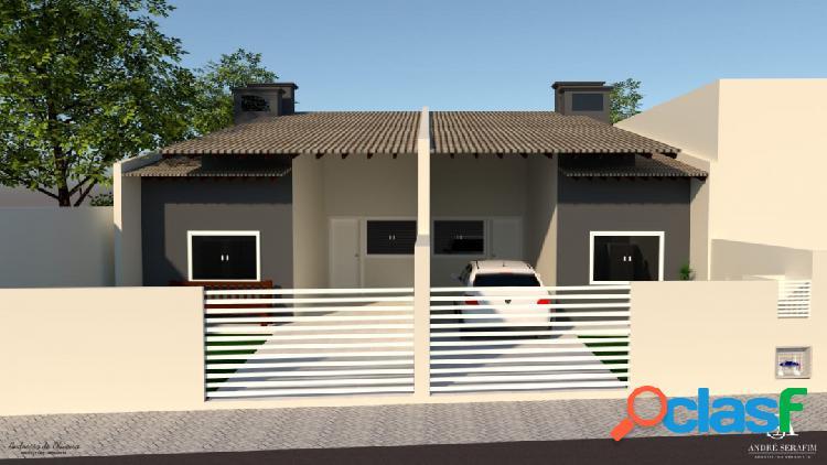 Casa geminada 3 quartos em Piçarras SC