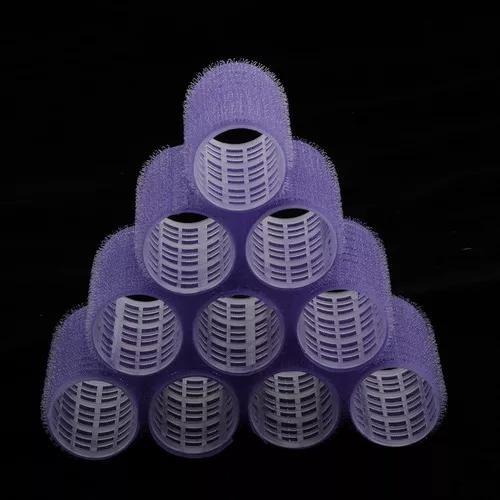 10 unidades/pacote grandes rolos de cabelo pequeno médio,