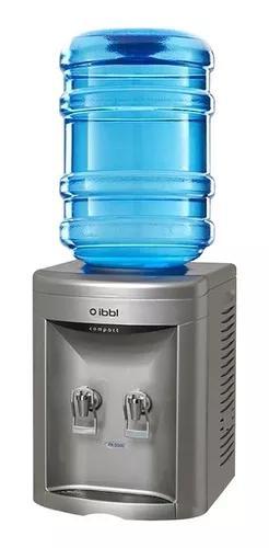 Bebedouro para garrafão ibbl compact prata 110v