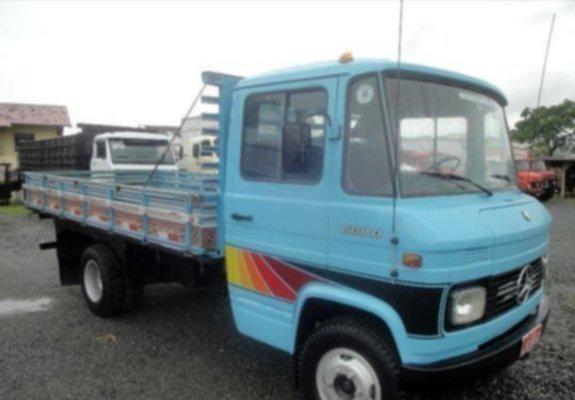 Caminhão mb 608 ano 1979 toda revisada freio ar