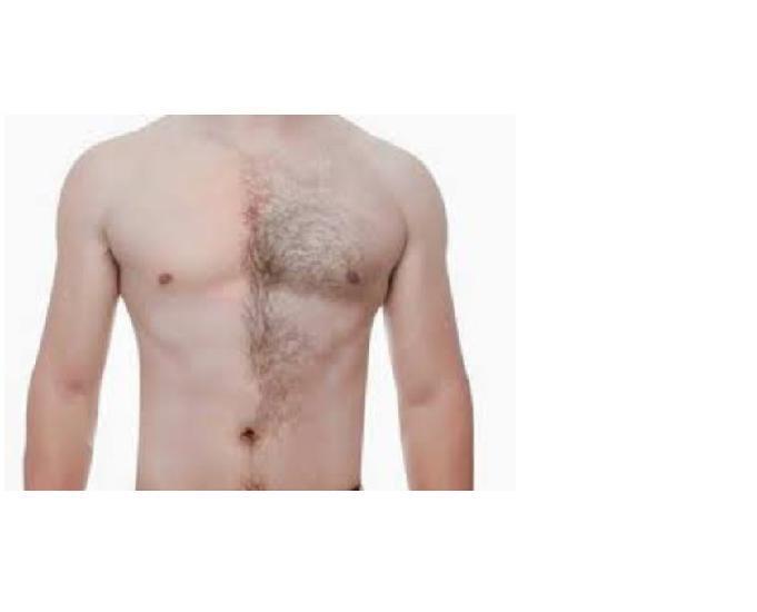 Depilação masculina limpeza de pele plastica nos pes