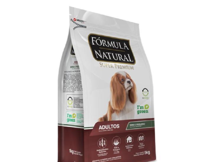 Fórmula natural super premium cães adultos porte pequeno