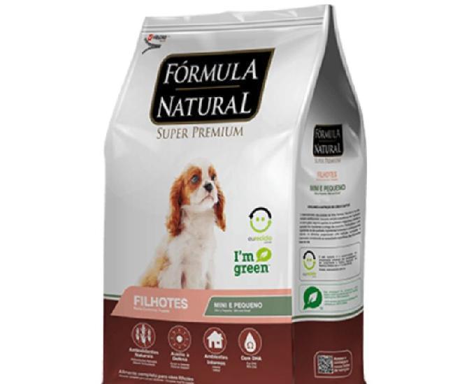 Fórmula natural super premium cães filhotes portes mini