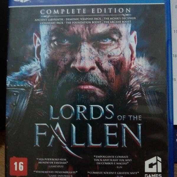 Lords of the Fallen - jogo PS4 original