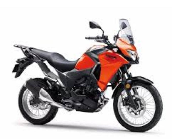 Moto kawasaki versys x300 - laranja - ano 2018 - copacabana