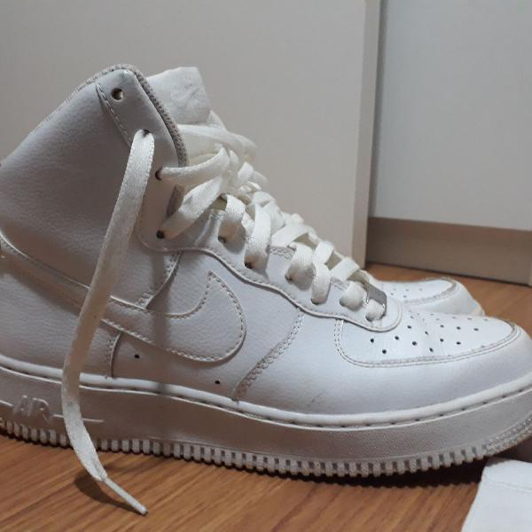 Nike air force high branco/white, n: 39