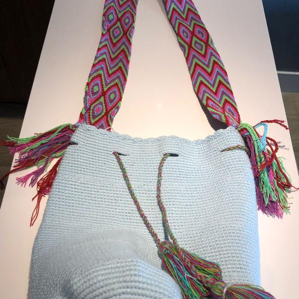 Bolsa saco wayuu andina