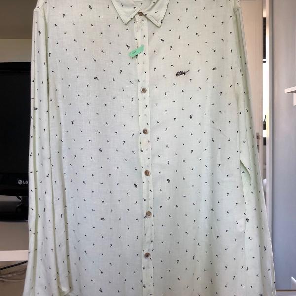 Camisa em linho ellus laundry