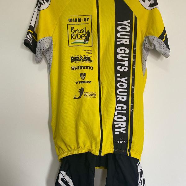 Conjunto ciclismo, camiseta + bretelle