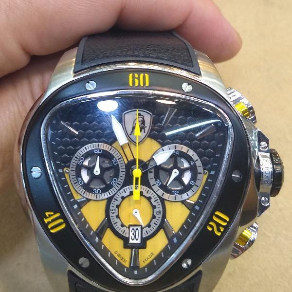 Relógio importado lamborghini black friday super oferta