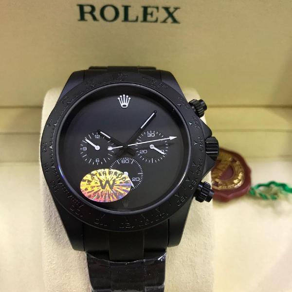 Relógio rolex top de linha 100% funcional - promoção