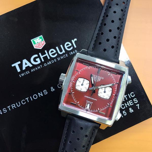 Relógio tag hauer top de linha 100% funcional black friday