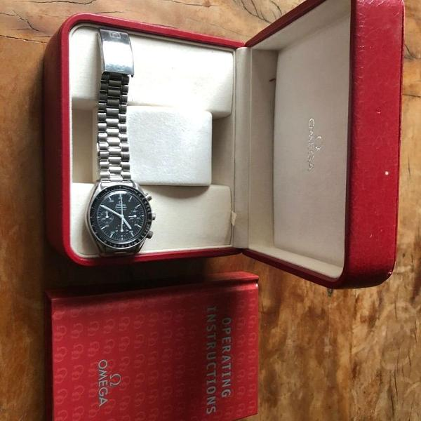 Relogio omega speedmaster - automatic - impecavel - original